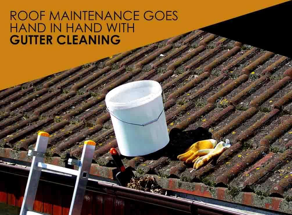 Roof Maintenance Goes Hand in Hand with Gutter Cleaning