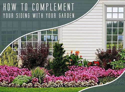 How To Complement Your Siding With Your Garden