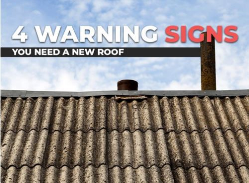 4 Warning Signs You Need a New Roof